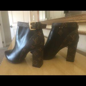 Louis Vuitton Booties 3.5 inch